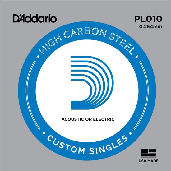 PL010 Plain enkele snaar