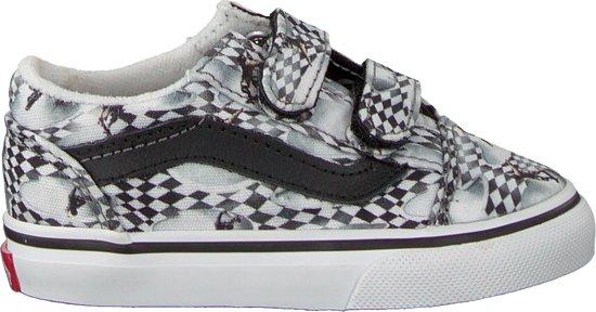 c3c37503203 bol.com | Vans Jongens Sneakers Td Old Skool V (molo) Skate Ch - Wit ...