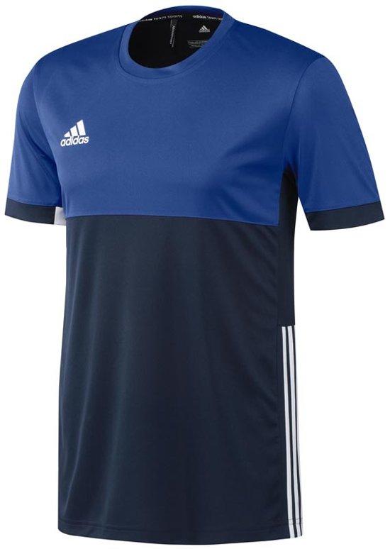 Adidas T16 SportshirtMaat L Mannen Blauw Tee OP8nwXk0