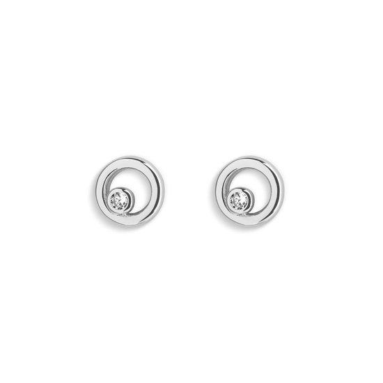 dames oorbellen zilver