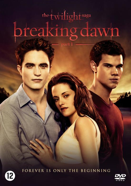 DVD cover van The Twilight Saga: Breaking Dawn - Part 1