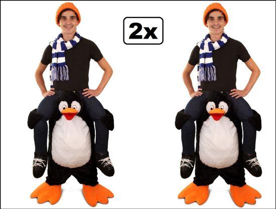 2x Kostuum Gedragen door pinguin