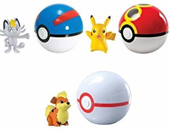 pokemon pokeball + figuur