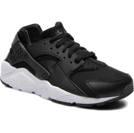 separation shoes a656b 01c02 Nike Huarache Run GS Zwart -maat 37.5- vrouwen