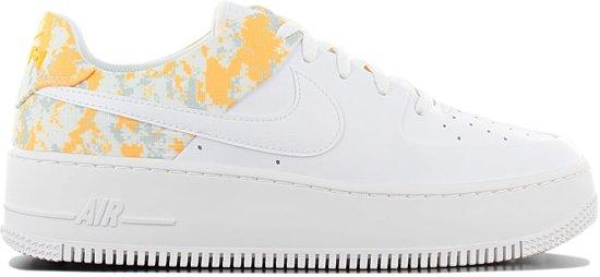 Nike Air Force 1 Sage Lo Premium CI2673-100 Dames Sneaker Sportschoenen  Schoenen Wit - Maat EU 40.5 US 9