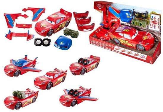 Bol Com Disney Mattel Cars Gear Up Bliksem Mcqueen Disney Speelgoed