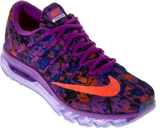 low priced 3a6ba 4e49c Nike Air Max 2016 Print Sneakers Dames Sportschoenen - Maat 40.5 - Vrouwen  - paars