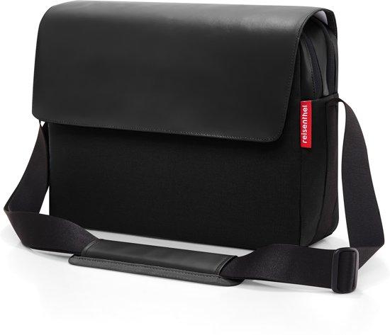 SchoudertasWerktas 10 Courierbag Canvas L Black 2 Reisenthel CoeWBQrdx