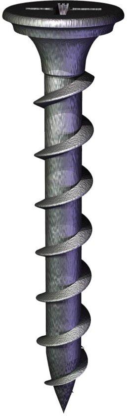 Grabber snelbouwschroef op band 3,9x35 mm gefosfateerd grove draad