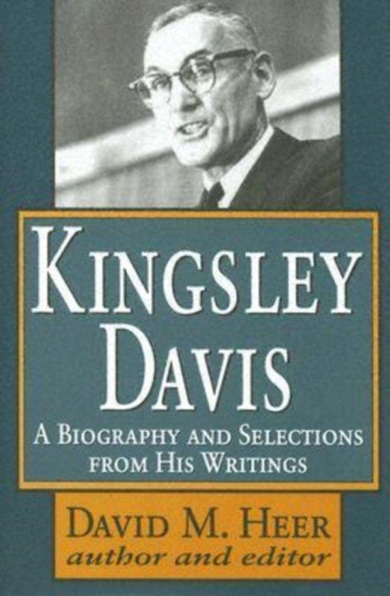 kingsley davis and wilbert moore