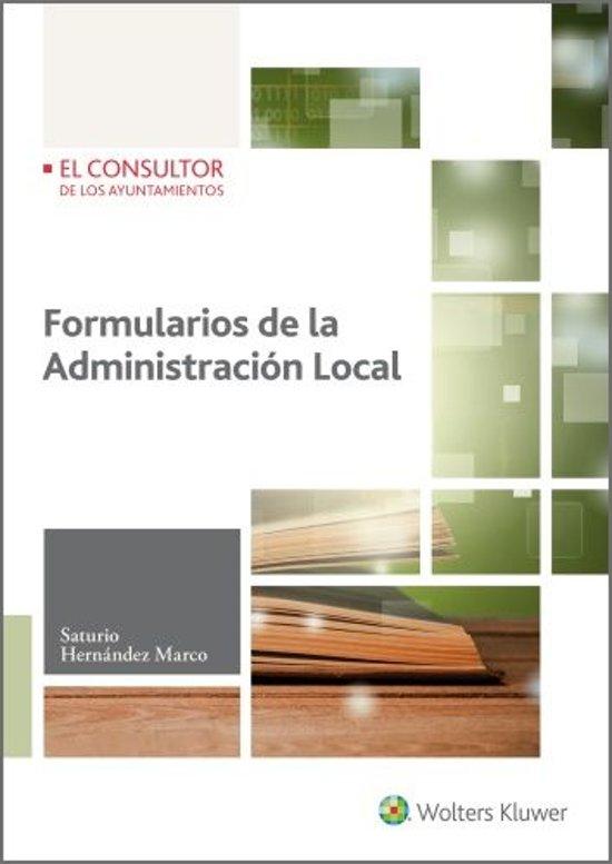 Formularios de la administracion local