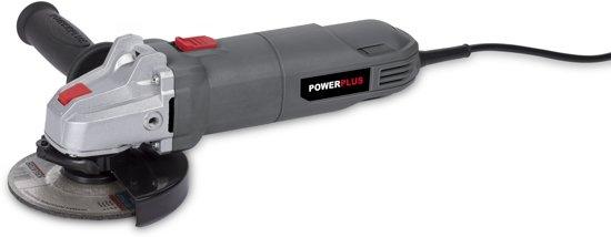 Powerplus POWE20010 Haakse slijper – 650 W – Ø115 mm schijfdiameter