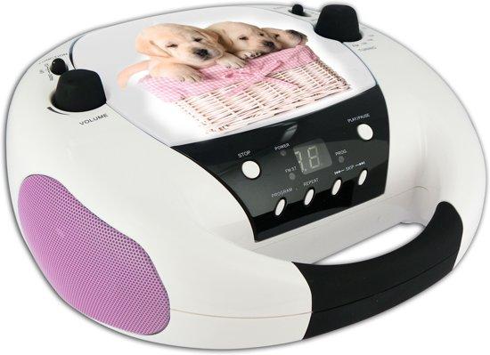 Bigben Draagbare CD Speler - Hond