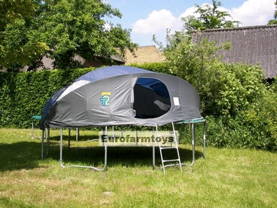 Tent voor 360 / 366 tr&oline - Jumpking T2 USA JK12-T2 & bol.com | Tent voor 360 / 366 trampoline - Jumpking T2 USA JK12-T2