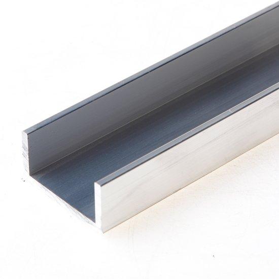 Roval Aluminium u-profiel 20 x 40 x 20 x 3mm