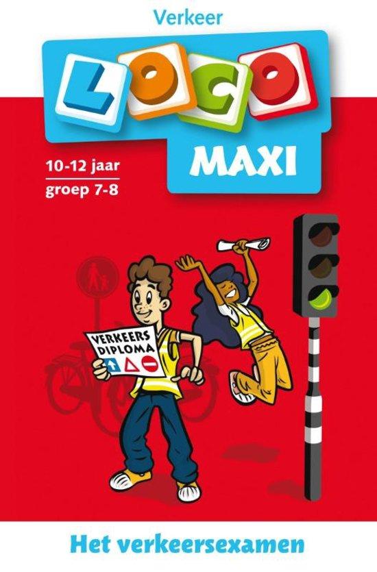 Boek cover Loco Maxi / Het verkeersexamen van Jacqueline de Kok-Hoeksema (Paperback)