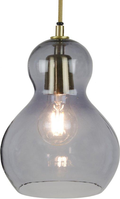Home Delight Singel grijs - Hanglamp - ø16x21cm - grijs