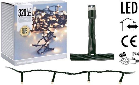 Kerstverlichting / Kerstboomverlichting / Lichtsnoer Extra Warmwit (24 meter)