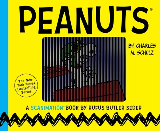 Peanuts - a Scanimation Book