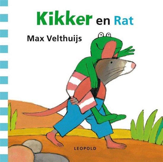 Boek cover Kikker - Kikker en Rat van Max Velthuijs (Onbekend)