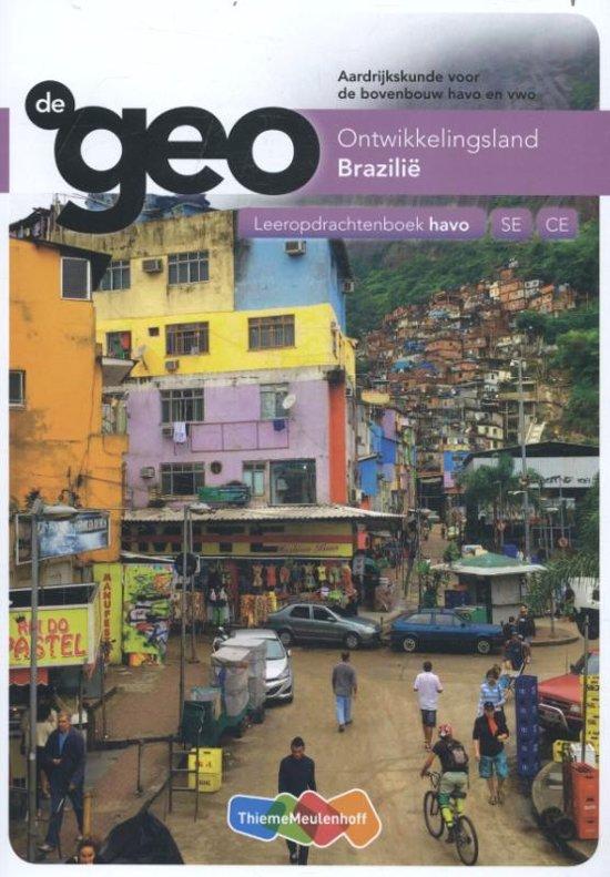 De Geo bovenbouw havo 5e editie leeropdrachtenboek Brazilië