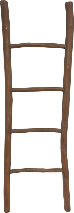 HSM Collection Decoratieve ladder Pank - antiek