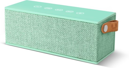 Fresh 'n Rebel Rockbox Brick Fabriq - Draadloze Bluetooth Speaker - Mintgroen