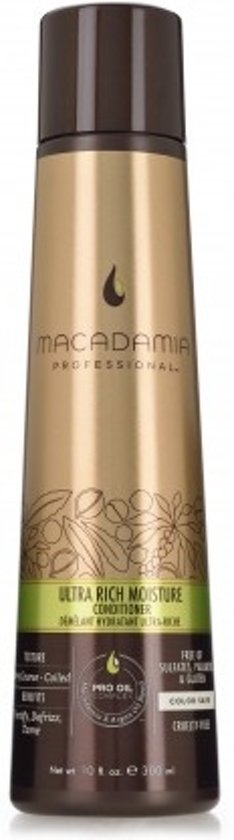 Macadamia Ultra Rich Moisture Vrouwen Professional hair conditioner 300ml