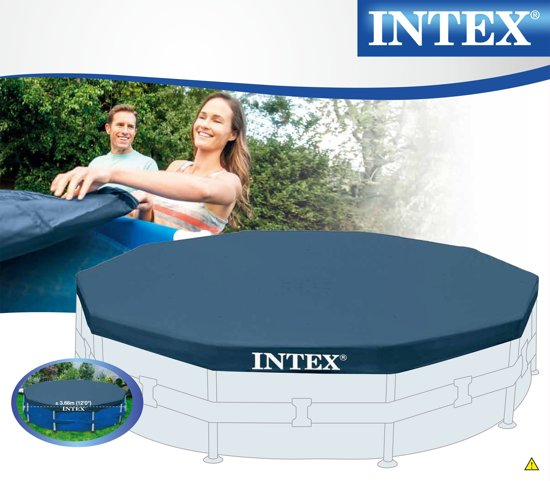 Intex Afdekzeil voor Metal Frame Pool 366cm