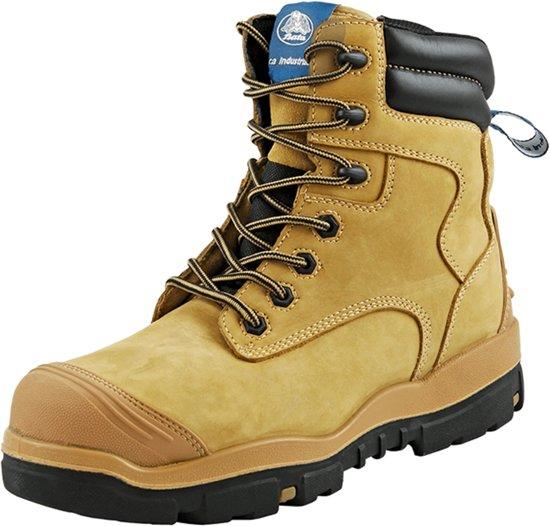 Bata Helix werkschoenen - Longreach Wheat Zip - S3 - maat XW 46 - hoog - 706-86147