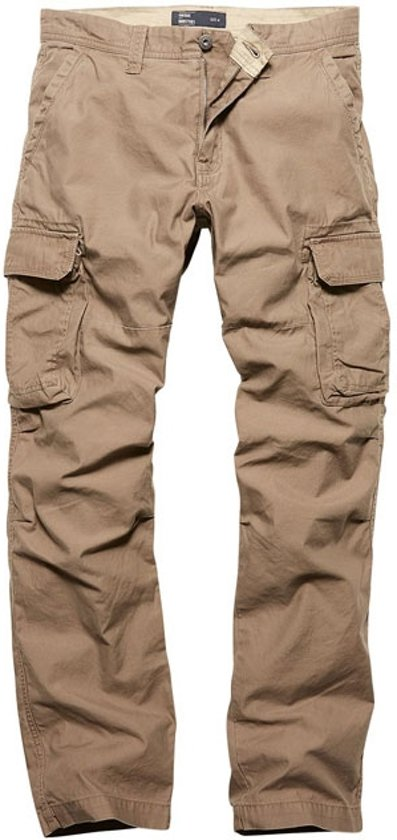 Vintage Industries Reef pantalon dark khaki