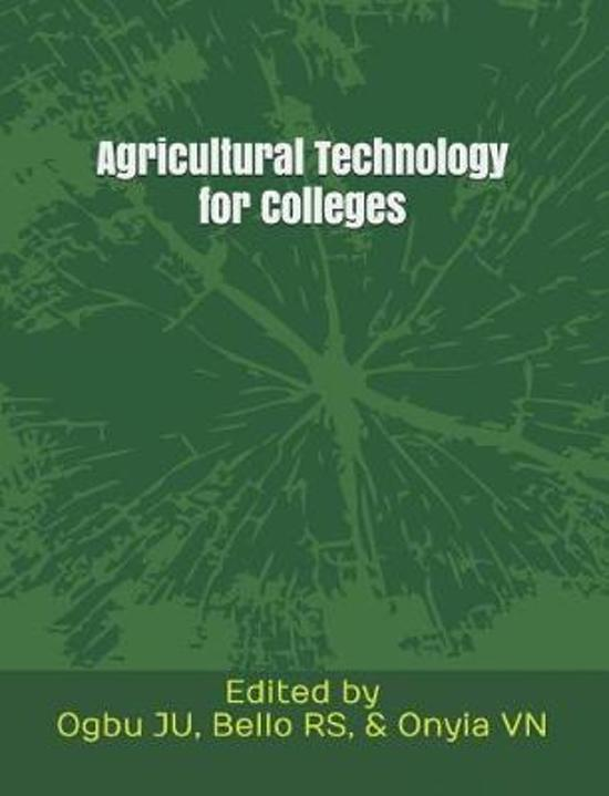 Agricultural Technology for Colleges