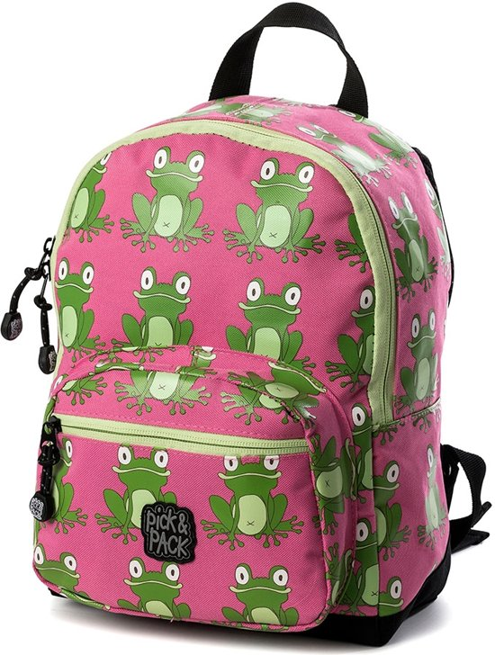 Pick & Pack Fun Rugzak Frog Pink