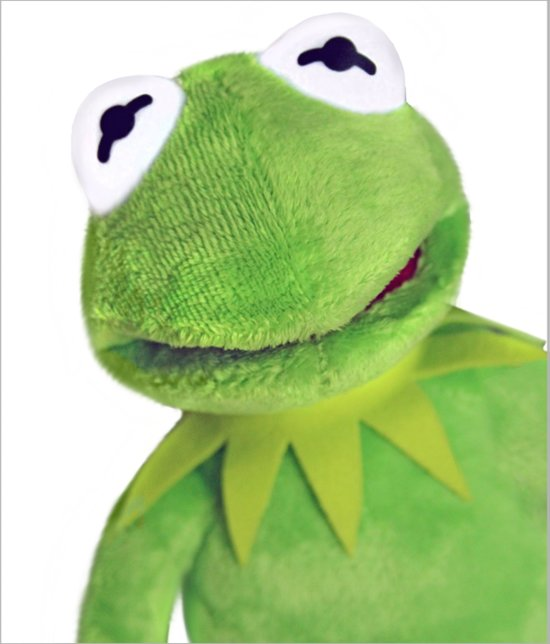 bb5b6104c110a5 bol.com | Pluche Knuffel The Muppet Show - Kermit de Kikker 38cm ...