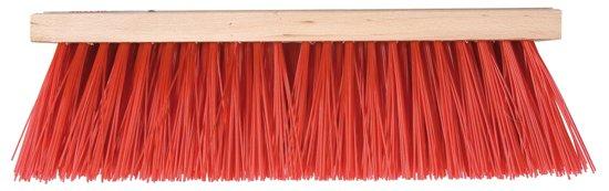 Talen Tools bezem kunstof rood 35 cm LOS