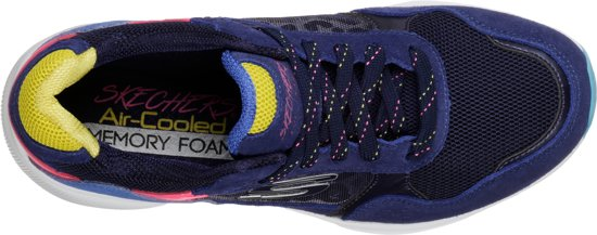 Sneakers Worries Multi Maat39 Skechers no Navy Dames Meridian w646xfqS