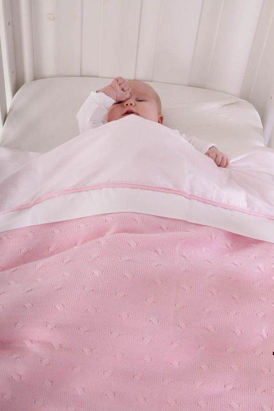 Baby's Only Deken Ledikant Kabel 135x100 cm - Marine