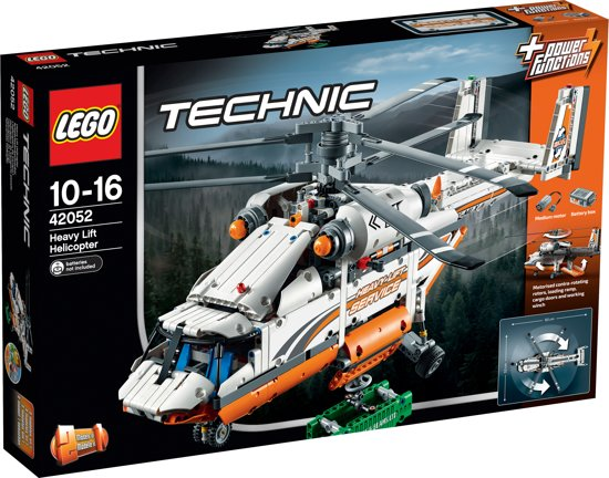 LEGO Technic Grote Vrachthelikopter - 42052