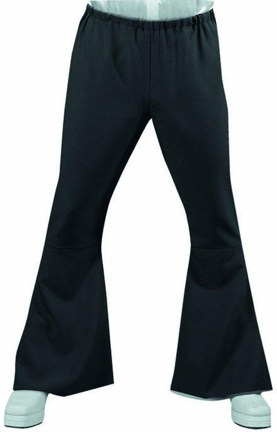 Geliefde bol.com | Zwarte Hippie broek met wijde pijpen | Jaren 70  #CD78