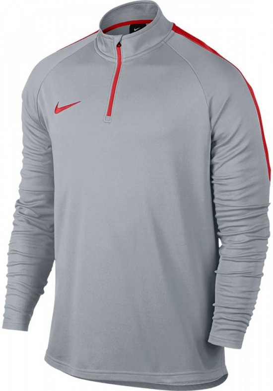 Nike Academy Dry Drill To Sweaters grijs licht L