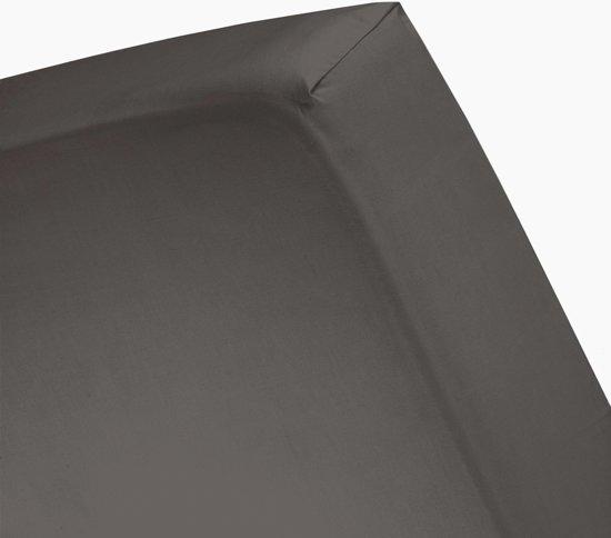 Damai - Hoeslaken hoge hoek (tot 35 cm) - Katoen - 180 x 210 cm - Brownie