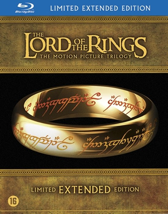 Lord Of The Rings Trilogy (Blu-ray) (Extended Edition) (Import)