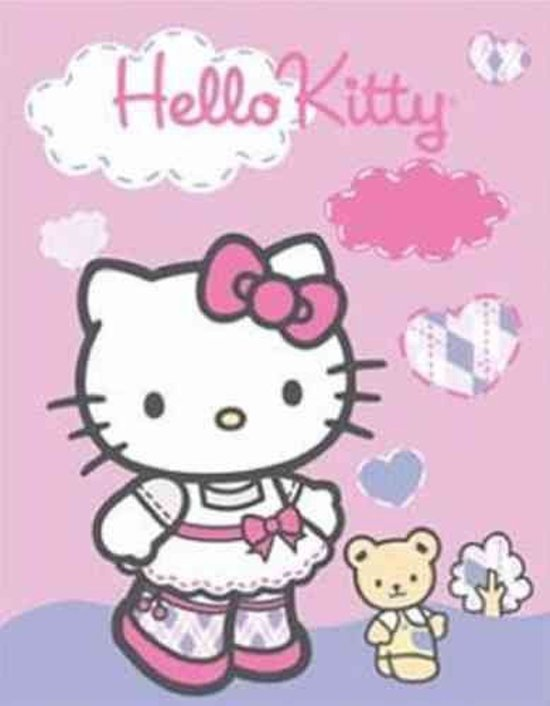 Handdoek Hello Kitty.Hello Kitty Handdoek Country