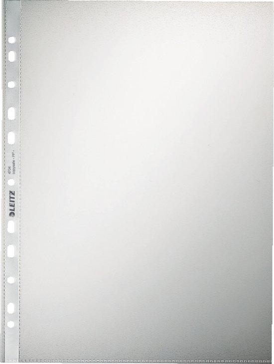 Leitz Premium Kwaliteit Showtas - A4 - 0,10 mm - 11-gaats - 100 stuks - Transparant