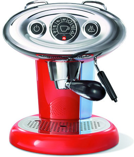 illy Francis Francis X7.1 Iperespresso - Koffiecupmachine - Rood