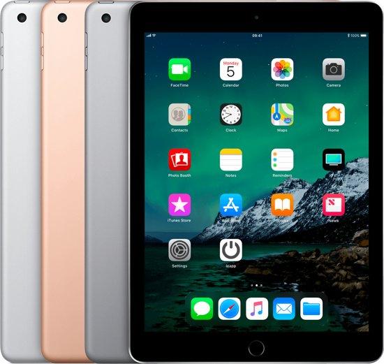 Forza Refurbished Apple iPad 2017 32GB Goud Wifi Only | Zo goed als nieuw | A grade | 2 Jaar Garantie