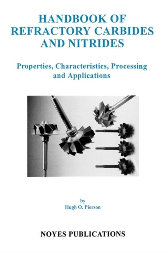 Handbook of Refractory Carbides and Nitrides