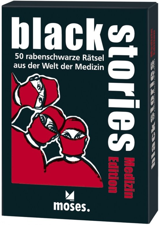 Afbeelding van het spel Black Stories - Medizin Edition