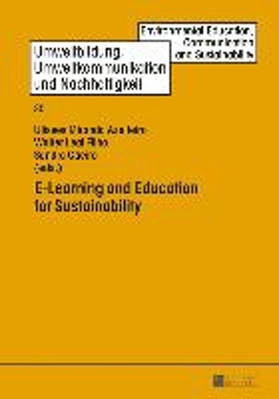 E-Learning and Education for Sustainability