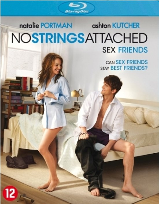 DVD cover van No Strings Attached (Blu-ray)